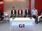 Candidatos a prefeito de Guarulhos, SP,  participam de debate no G1