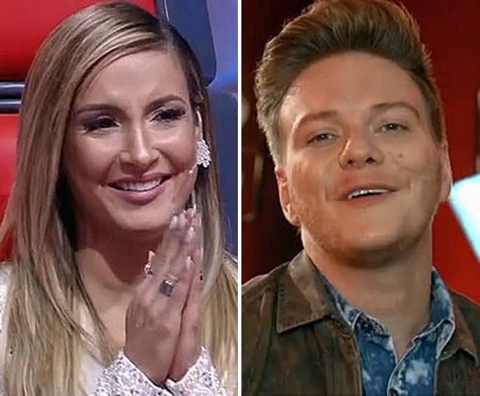 Claudia e Teló vão salvar mais vozes dos seus times (Foto: TV Globo)