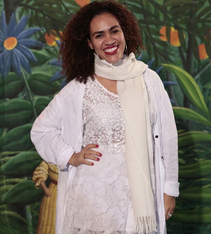 Mariene de Castro posa toda sorridente; ela interpretou Dalva na novela (Foto: Felipe Monteiro/ Gshow)