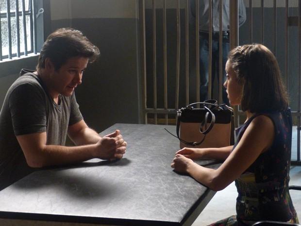 Jonas fica emocionado e garante que será apenas um empréstimo (Foto: Geração Brasil/TV Globo)