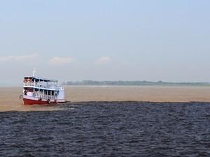 Área do Encontro das Águas, em Manaus, é tombada pelo Iphan  (Foto: AVG/ TV Amazonas)