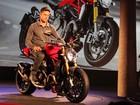 Ducati revela Monster 1200, de 135 cv, que chega ao Brasil no ano que vem