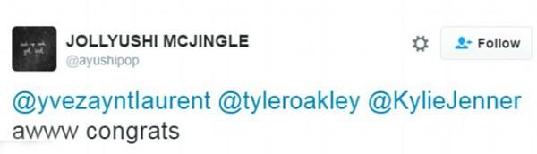 Um fã confuso com a montagem com Kylie Jenner (Foto: Twitter)