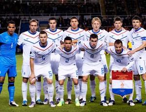 Holanda Seleção Euro -  09/02/2012 (Foto: Agência AFP)