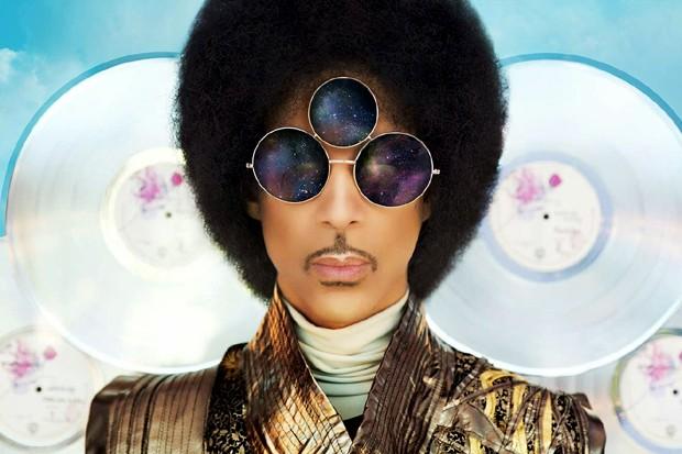 Prince na capa do álbum 'Art Official Age' (Foto: Divulgação)