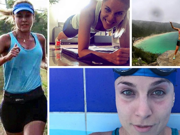 Lívia Salles se apaixonou por esportes há dois anos e prática teve impacto na recuperação de memórias, Lavras, MG (Foto: Arquivo pessoal/Lívia Salles)