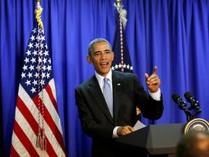 Obama disse que Coreia do Norte segue 'sendo uma ameaça a médio prazo' (Foto: Carlos Barria/Reuters)