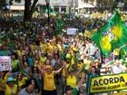 Protestos na região de Piracicaba pedem o fim da corrupção no país
