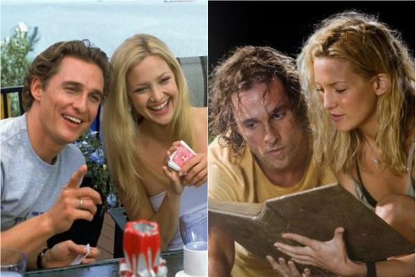 'Como Perder um Homem em 10 Dias' (2003) fez tanto sucesso que os protagonistas, Kate Hudson e Matthew McConaughey, voltaram a trabalhar juntos cinco anos depois, em 'Um Amor de Tesouro' (2008)  (Foto: Divulgação)