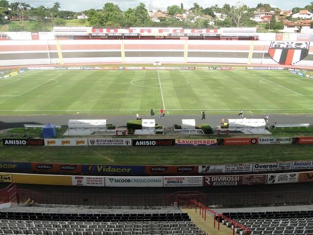 Estádio Santa Cruz em Ribeirão Preto (Foto: Leonardo Lourenço/Divulgação)