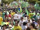 Manifestantes protestam em cidades de SC contra corrupção