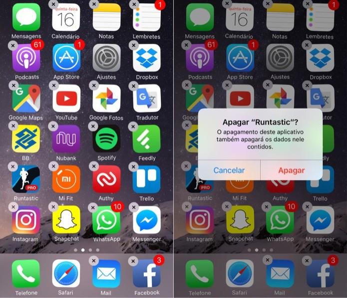 Desinstale os apps que você não usa (Foto: Reprodução/Helito Bijora)