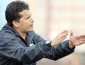 Claudinei Oliveira, treinador do Santos Sub-20 (Foto: Divulgação/Santos FC)