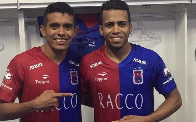 Igor cariús e júnior paraná clube (Foto: Divulgação/MSMaisesportes)