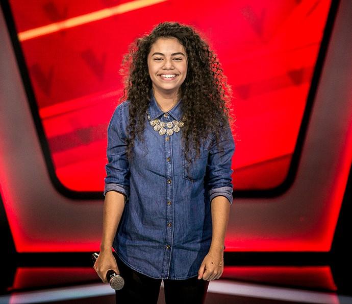 Nathy Veras é do Time Ivete Sangalo no The Voice Kids (Foto: Isabella Pinheiro/Gshow)