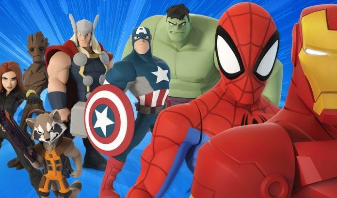 Heróis dos quadrinhos da Marvel estão em jogo da Disney (Foto: Divulgação)