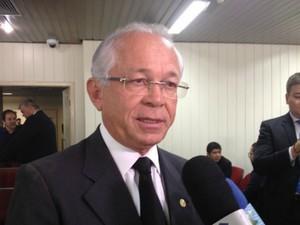 Ministro Brito Pereira observou que uma das dificuldades enfrentas pelo TRT-RO é o déficit de servidores.  (Foto: Isís Capistrano)