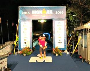 EuAtleta - Iduarte Ironman Fortaleza (Foto: Arquivo pessoal)