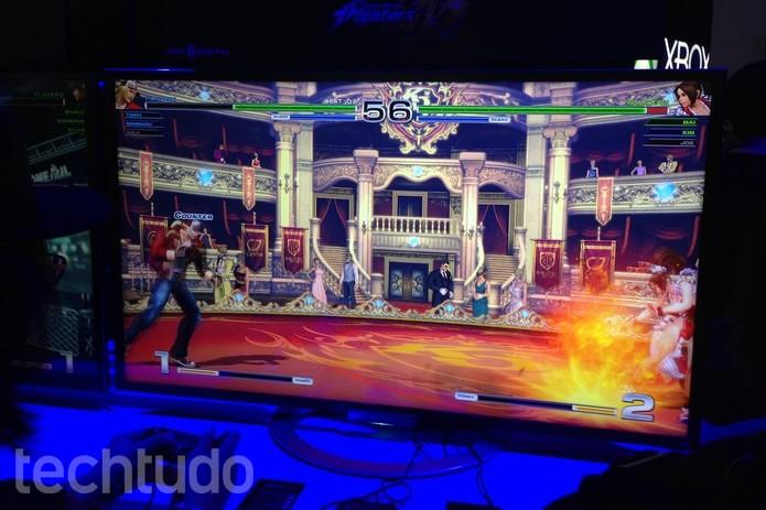 The King of Fighters 14 é exclusivo do PS4 (Foto: Felipe Vinha/TechTudo)