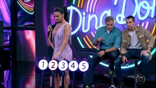 Viviane Araújo e Antonia Morais enfrentam Oscar Magrini e Ricardo Vianna no 'Ding Dong'