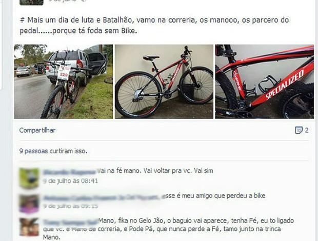 Bicicleta Piracicaba Ciclismo (Foto: Reprodução / Facebook)