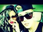 Voltaram?Justin Bieber posta com Selena Gomez em rede social