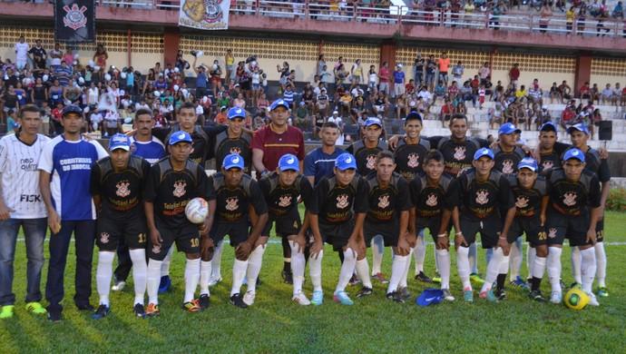 Copa dos Campeões, Santarém Corinthians Tabocal (Foto: Gustavo Campos/GloboEsporte.com)