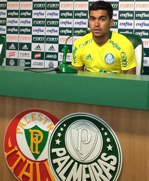 Dudu coletiva Palmeiras (Foto: Felipe Zito)