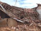 Telhado e parede de casa desabam e menina de 5 anos sai ilesa em Franca
