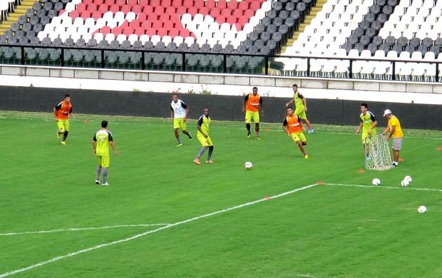 jogadores Vasco treino (Foto: Rafael Cavalieri)