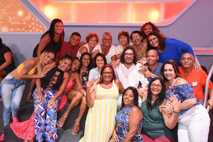 Ilmar com a plateia na noite de sua eliminação  (Foto: Artur Meninea/TV Globo)