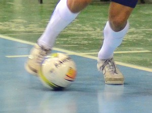 Pivô Hernandes Taubaté Futsal (Foto: Jonas Barbetta/Top 10 Comunicação)