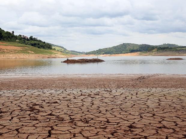Represa de Bragança Paulista , que faz parte do Sistema Cantareira  (Foto: LUIS MOURA/ESTADÃO CONTEÚDO)