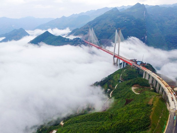 Resultado de imagem para ponte beipanjiang