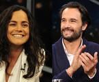 Alice Braga e Rodrigo Santoro | TV Globo