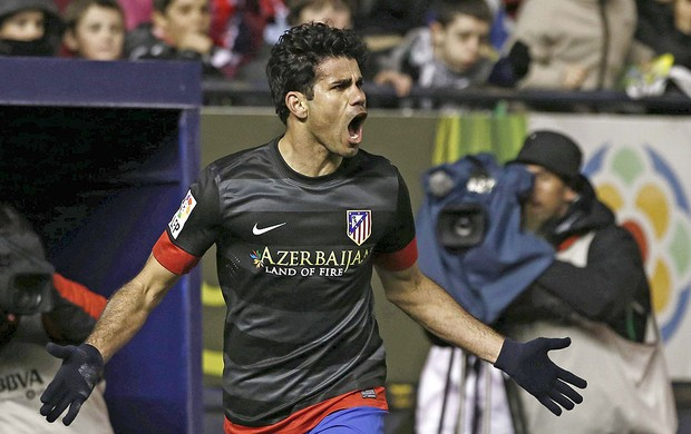 Diego Costa gol Atlético de Madri Osasuna (Foto: EFE)