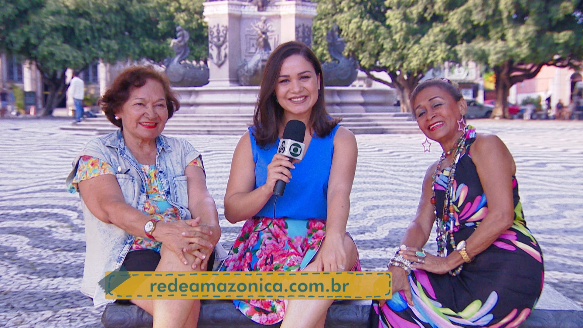 As divas do samba irão animar a noite do 'Manaus ao Luar', da Rede Amazônica (Foto: Amazonas TV)