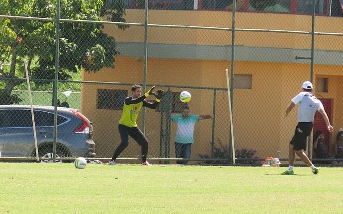 Martin Silva treino Vasco (Foto: Raphael Zarko)