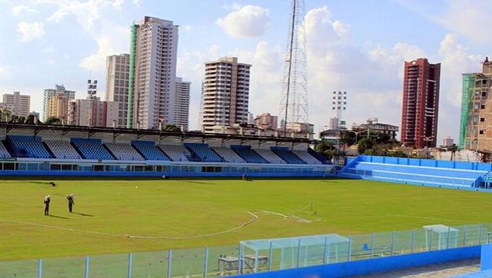 Estádio da Curuzu pronto após reforma (Foto: Fernando Torres/Ascom Paysandu)