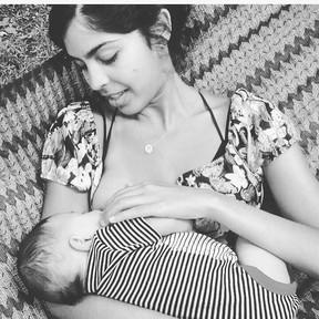 Bela Gil com o filho (Foto: Instagram / Reprodução)