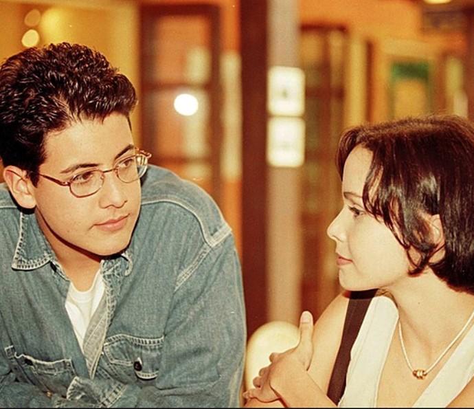 O primeiro papel de Débora Falabella na Globo foi em Malhação, em 1998 (Foto: Cedoc / TV Globo)