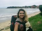 Viajando pelo Brasil, mochileira perde ursinho de pelúcia e faz apelo na web