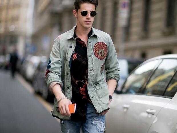 Street Style Semana de Moda de Milão - verão 2017 (Foto: IMAXTREE)