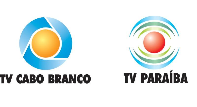 Logo das TVs Cabo Branco e Paraíba (Foto: Reprodução)