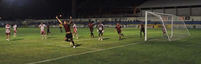 Flamengo-PI x Caiçara pela sexta rodada do returno do Piauiense (Foto: Marco Freitas)