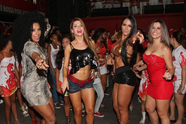 Simone Sampaio, Cacau, Dai Macedo e Tânia Oliveira (Foto: Danilo Carvalho/Ag Fio Condutor/Divulgação)