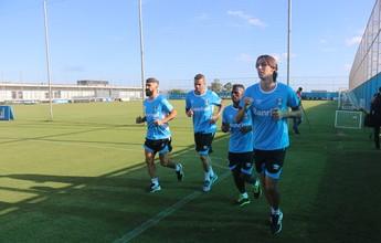Geromel tem retorno previsto para reapresentação e reforça o Grêmio