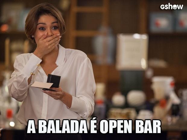 Reações de Alice Babilônia - open bar