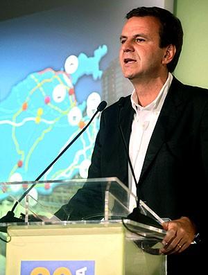 Eduardo Paes seminário Rio 2016 (Foto: J.P.Engelbrecht / Divulgação)