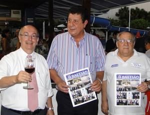 Anísio Ciscotto, Hermínio Lemos e Carlos de Souza Carmo (Foto: Marco Antônio Astoni)